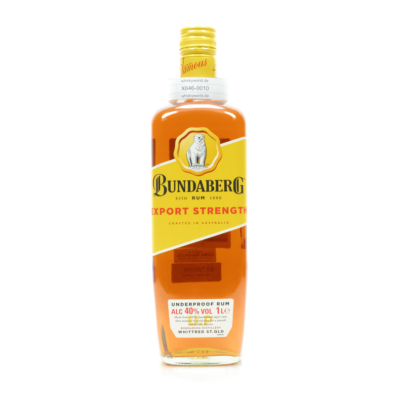 Bundaberg Export Strength Literflasche 1 L/ 40.00%