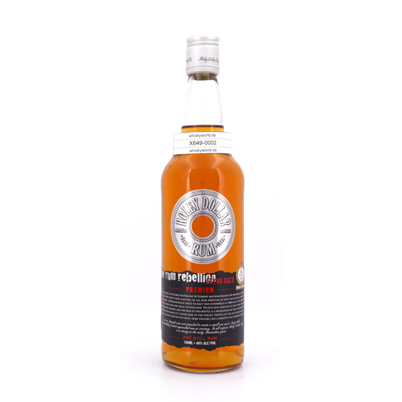 Holey Dollar Pot Still Rum Premium Extra aged 0,70 L/ 40.00%