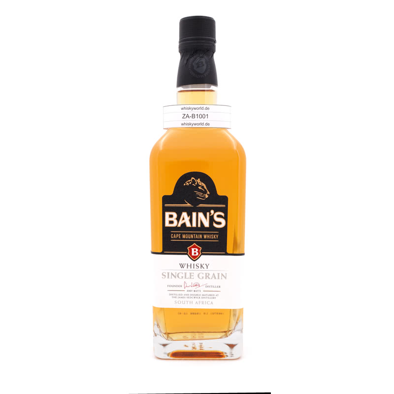 Bains Cape Mountain Single Grain Whisky 0,70 L/ 40.00%´